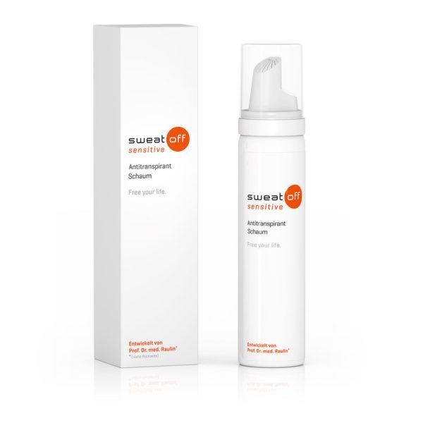 Sweat-Off sensitive Antitranspirant Schaum