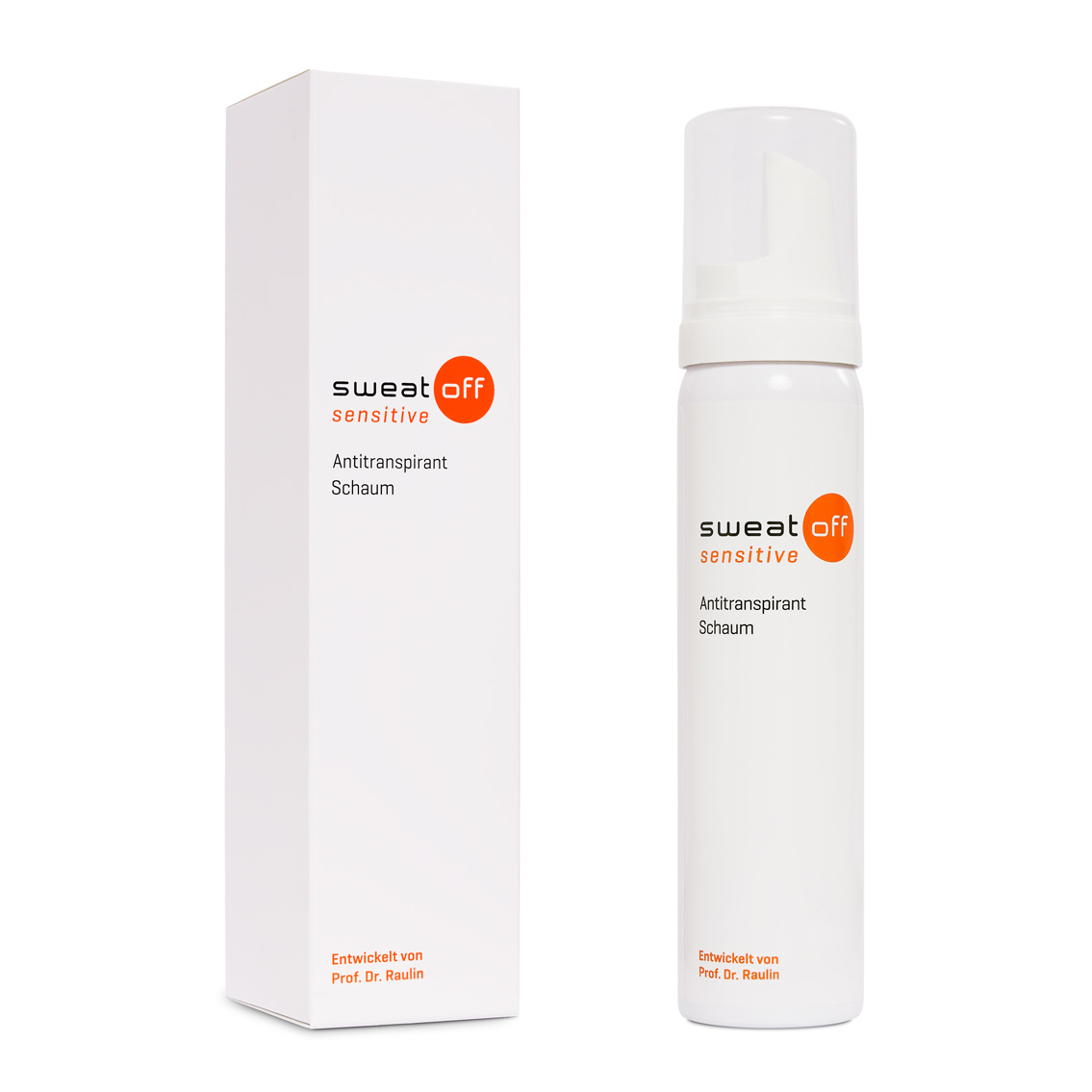 Sweat-Off sensitive Antitranspirant Schaum 75ml