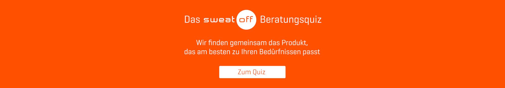 Quiz Seite Sweat-Off