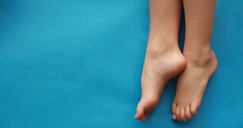 Antitranspirant für die Füße