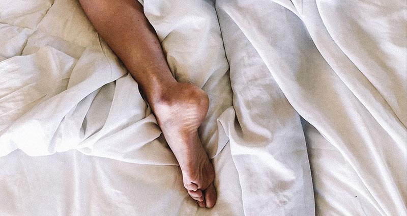 Nachts schwitzen die Beine