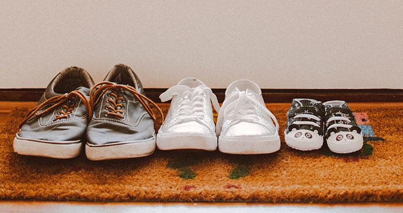 Stinkende Schuhe – Hausmittel