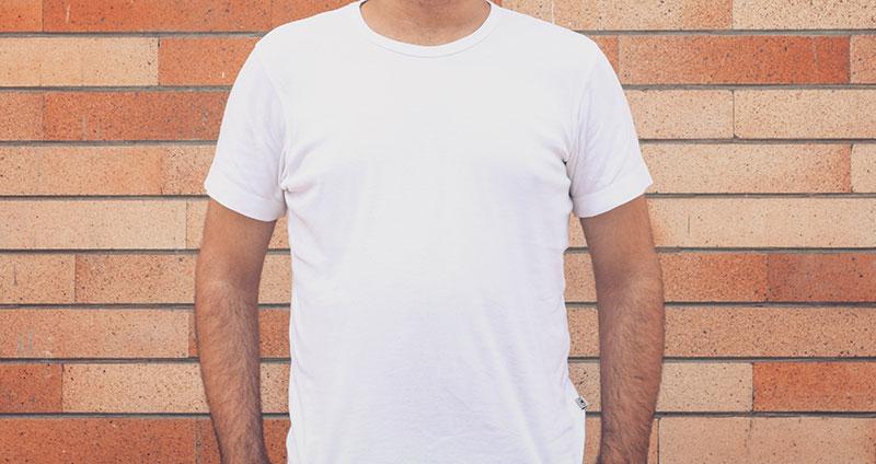 T-Shirt gegen Schwitzen