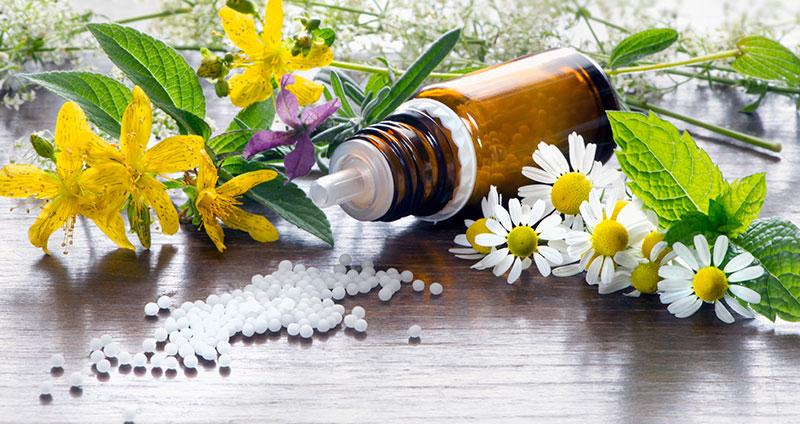 Homöopathie gegen Schwitzen am Kopf