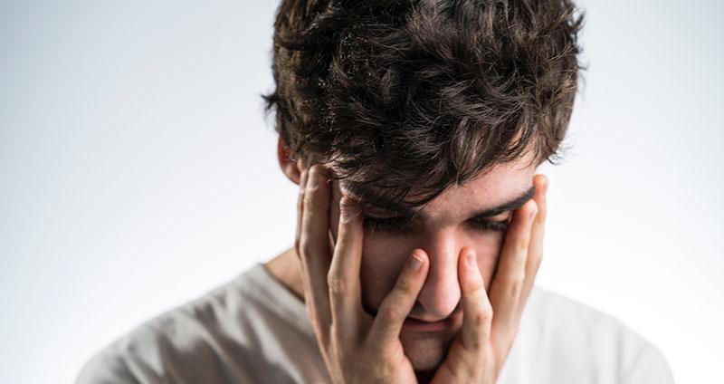 Deo gegen Schwitzen am Kopf