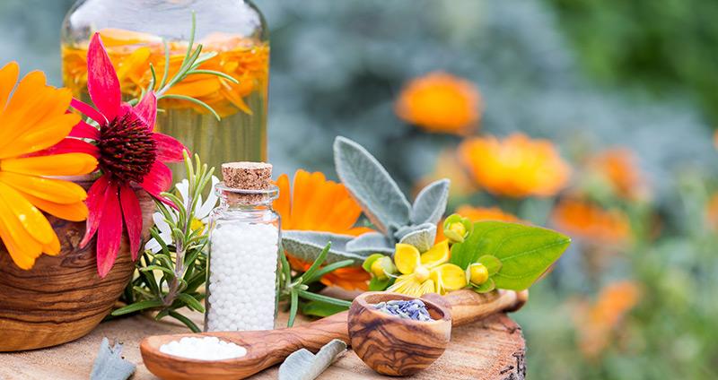 Homöopathie gegen Schwitzen