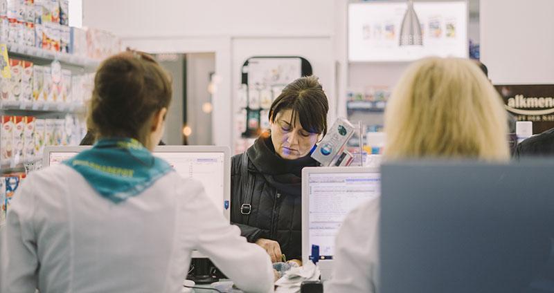Mittel gegen Schwitzen im Gesicht aus der Apotheke