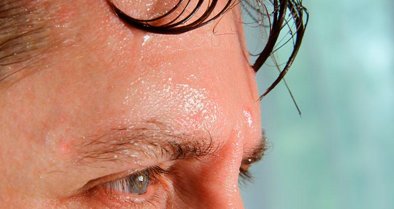 Schampoo gegen Schwitzen am Kopf