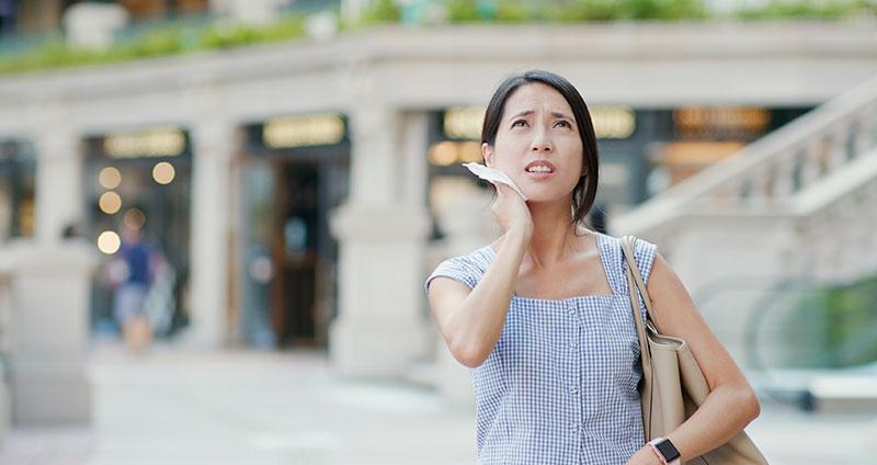 10 Tipps gegen Schwitzen im Gesicht