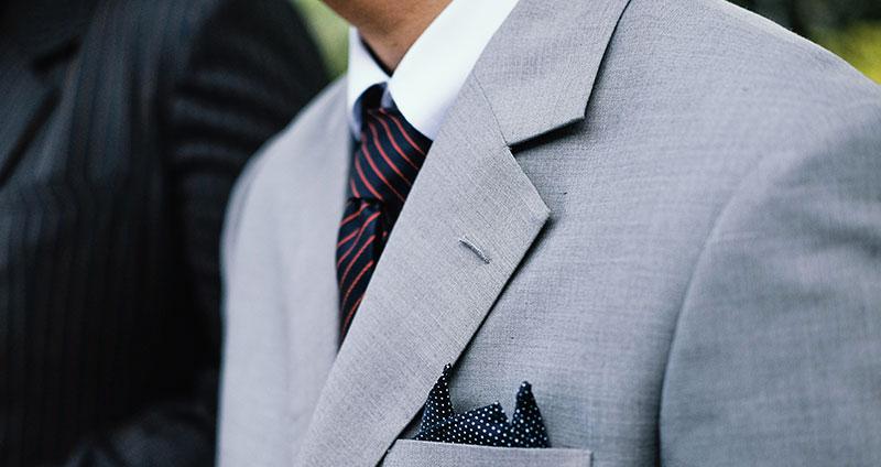 Schwitzen im Anzug