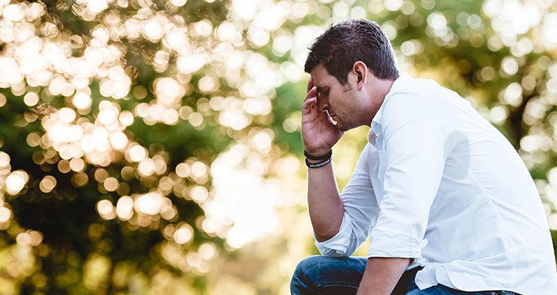 Schwitzen beim Stress oder Aufregung
